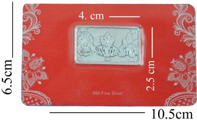 Veer Jewels S 999 10 g Silver Coin Veer Jewels Coins   Bars