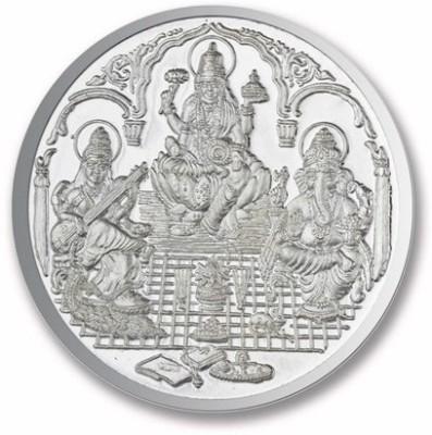 P.N.Gadgil Jewellers Trimurti Shree S 999 50 g Silver Coin P.N.Gadgil Jewellers Coins   Bars