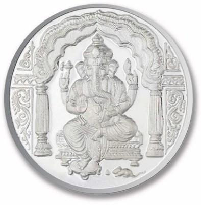 P.N.Gadgil Jewellers Ganesh Om S 999 25 g Silver Coin