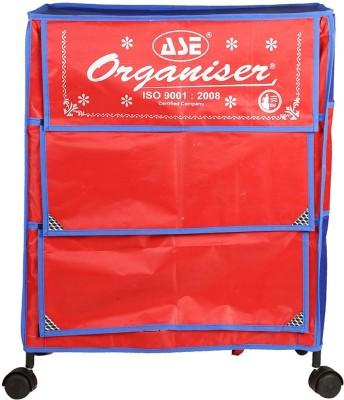 234dcec3f9d Archana Archana Iron Folding Kids Almirah ( 3 Shelf) Carbon Steel  Collapsible Wardrobe(Finish Color - Red)