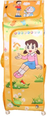 Doraemon Polyester Collapsible Wardrobe(Finish Color - yellow)