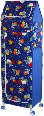 Amardeep Celebration PP Collapsible Wardrobe(Finish Color - Blue)
