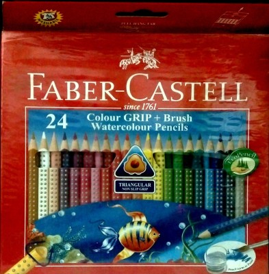 Faber-Castell Art Creation Triangular Shaped Color Pencils(Set of 1, Red)  available at flipkart for Rs.580