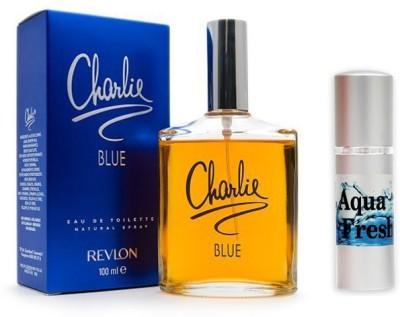 Revlon Charlie Blue Perfume and Aqua Fresh Combo Set(Set of 2)  available at flipkart for Rs.849