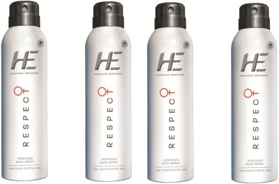 He 4 Respect Combo Set(Set of 4) at flipkart