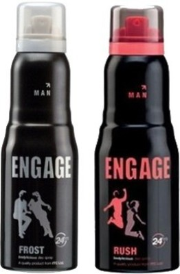 Engage Frost and Rush Combo Set(Set of 2)  available at flipkart for Rs.367