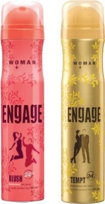Engage Blush and Tempt Combo Set(Set of 2)  available at flipkart for Rs.370