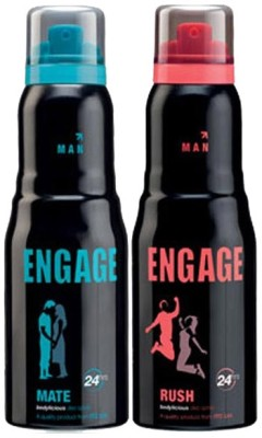Engage Engage Combo Set Combo Set(Set of 2)  available at flipkart for Rs.360