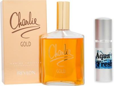 Revlon Charlie Gold Perfume And Aqua Fresh Combo Set(Set of 2)  available at flipkart for Rs.799