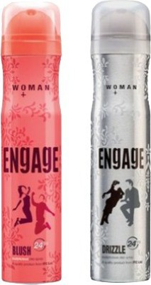 Engage Blush and Drizzle Combo Set(Set of 2)  available at flipkart for Rs.329