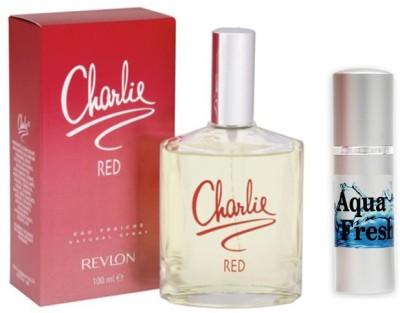 Revlon Charlie Red Perfume And Aqua Fresh Combo Set(Set of 2)  available at flipkart for Rs.799