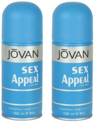 Jovan Sex Appeal and Sex Appeal Combo Set(Set of 2)