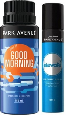 Park Avenue Elevate ,Good Morning Deodorant Spray Combo Set(Set of 2)
