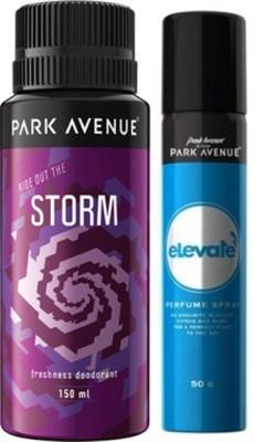 Park Avenue Elevate , Storm Deodorant Spray Combo Set(Set of 2)