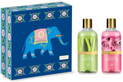 Vaadi herbals Enduring Fragrance Shower Gel Gift Box- Combo Set