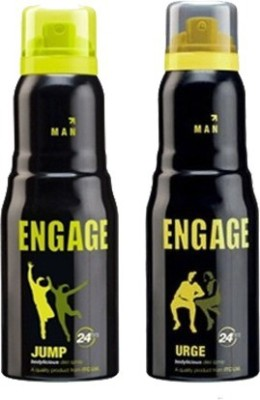 Engage Jump and Urge Combo Set(Set of 2)  available at flipkart for Rs.357