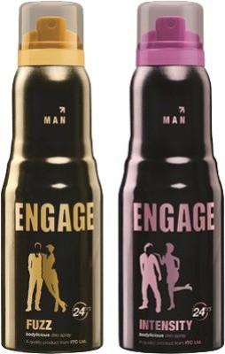 Engage Fuzz and Intensity Combo Set(Set of 2)  available at flipkart for Rs.365