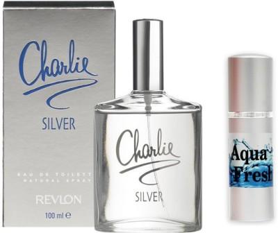 Revlon Charlie Silver Perfume And Aqua Fresh Combo Set(Set of 2)  available at flipkart for Rs.799