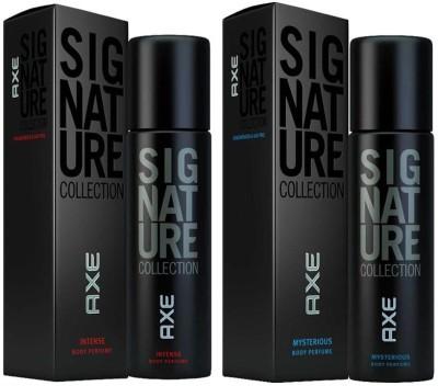 Axe Signature Mysterious, Intense Body Perfume Combo Set(Set of 2)