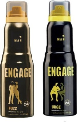 Engage Fuzz and Urge Combo Set(Set of 2)  available at flipkart for Rs.372