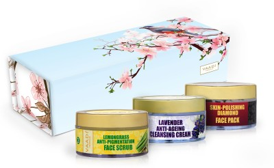 Vaadi herbals Exotic Radiance Skin Care Herbal Gift Set Combo Set