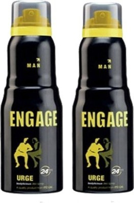 Engage Urge and Urge Combo Set(Set of 2)  available at flipkart for Rs.360