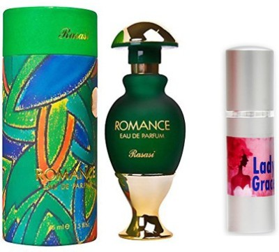 Rasasi Romance Woman Perfume And Lady Grace Combo Set(Set of 2)  available at flipkart for Rs.1049