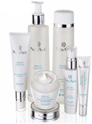 Oriflame sweden NovAge Bright Sublime Set Combo Set at flipkart