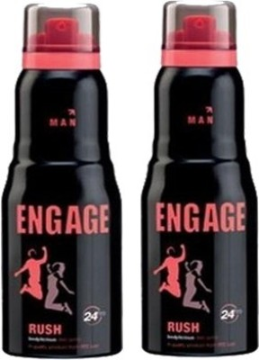 Engage Rush and Rush Combo Set(Set of 2)  available at flipkart for Rs.367