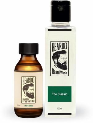 Beardo The Old Fashioned Beard Oil (30ml) & Beard Wash Combo (100ml)(Set of 2)