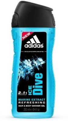 Adidas Ice Dive Hair & Body 2-in-1(250 ml)  available at flipkart for Rs.200