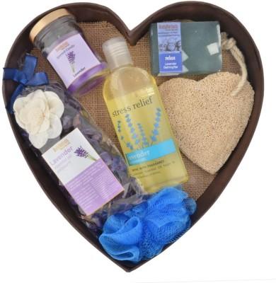 BodyHerbals Lavender Surprise Bathing Set(Set of 6)