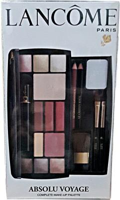 Lancome Absolu Voyage Complete Make-Up Palette(Set of 15)  available at flipkart for Rs.4450