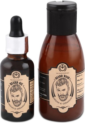 Beardo The Old Fashioned Beard Oil (30ml) & Beard Wash Combo (100ml)(Set of 2)