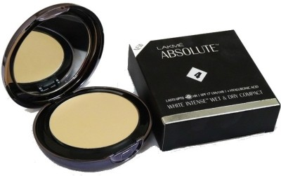 Lakme Absolute White Intense Wet & Dry Compact  - 9 g(Rose Fair 02)  available at flipkart for Rs.595