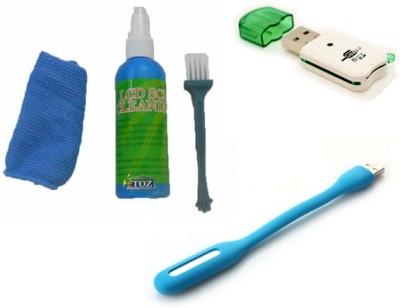 Namo Art Card Reader, USB LED, Cleaning Kit Combo Set