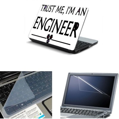 Namo Art 3in1 Laptop Skins with Screen Guard and Key Protector TPR1023 Combo Set