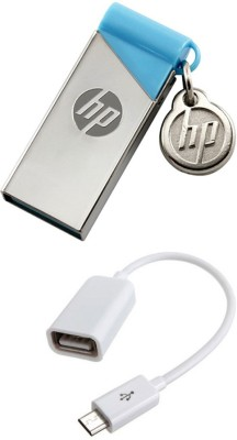 976c11b272e 11% OFF on HP 16 GB Pendrive With OTG Cable Combo Set on Flipkart ...
