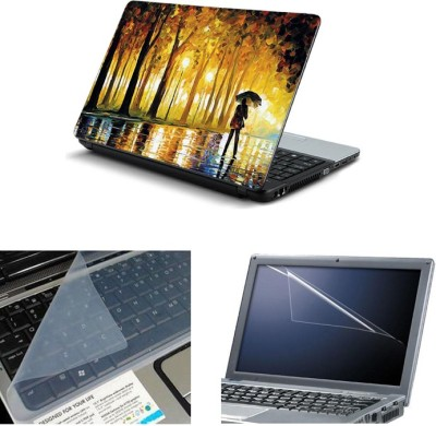 Namo Art 3in1 Laptop Skins with Screen Guard and Key Protector TPR1011 Combo Set