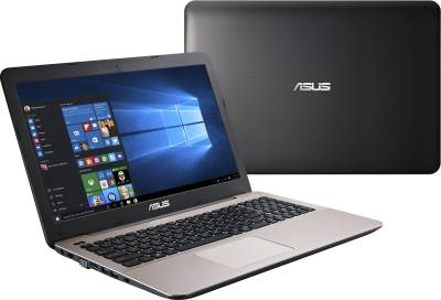 Asus A555LF-XX257T 90NB08H1-M04030 Core i3 (5th Gen) - (4 GB DDR3/1 TB HDD/Windows 10/2 GB Graphics) Notebook (15.6 inch, Glossy Dark Brown)