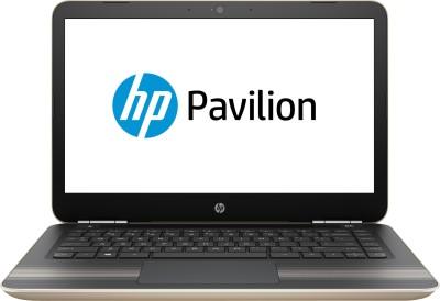HP Pavilion Core i7 6th Gen - (12 GB/1 TB HDD/128 GB SSD/Windows 10 Home/4 GB Graphics) 14-al010TX Notebook(14 inch, Modern Gold, 1.78 kg) at flipkart