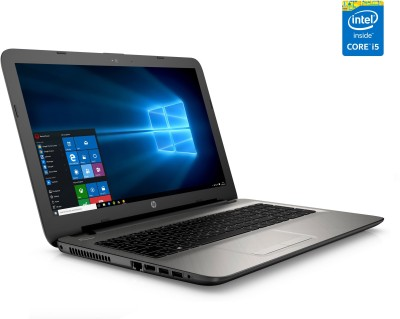 HP-15-ac126TX-Notebook-15.6-inch-Laptop-(Core-i5-5200U/8GB/1TB/Windows-10/2GB-Graphics),-Turbo-Silver