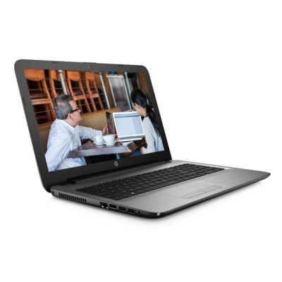 HP APU Quad Core E2 6th Gen - (4 GB/500 GB HDD/DOS) 15-ba007AU Notebook(15.6 inch, Turbo SIlver, 2.19 kg)