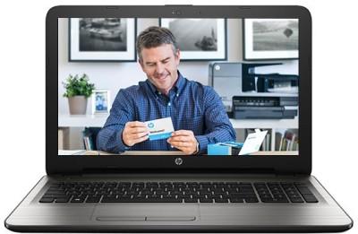 HP Core i3 5th Gen - (4 GB/1 TB HDD/DOS) 15-ay019TU Laptop(15.6 inch, Turbo SIlver, 2.19 kg)