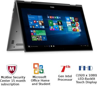 Dell Inspiron 5000 Core i5 - (8 GB/1 TB HDD/Windows 10 Home) Z564503SIN9 5578 2 in 1 Laptop