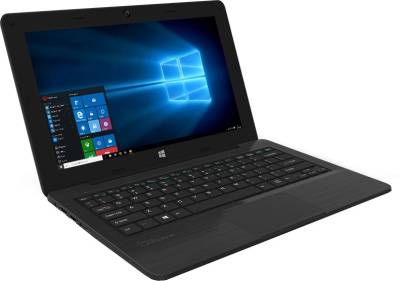 Micromax Canvas Lapbook L1161 Intel Atom Quad Core - (2 GB DDR3/32 GB EMMC HDD/Windows 10) Netbook (11.6 inch, Black)