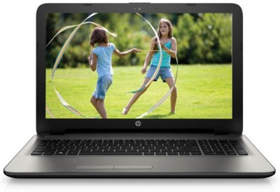 HP 15-ac044TU Notebook (Core i3 5th Gen/ 4GB/ 500GB/ FreeDOS) (M9U99PA)(15.6 inch, Turbo SIlver Color With Diamond & Cross Brush Pattern, 2.14 kg)
