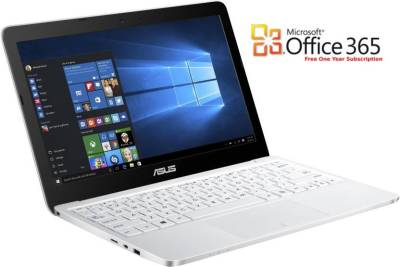 Asus Eeebook Atom - (2 GB/32 GB EMMC Storage/Windows 10) 90NL0071-M00680 E200HA-FD0005TS Netbook