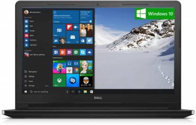 Dell Inspiron 3000 Z565104HIN9 Core i3 (5th Gen) - (4 GB/500 GB HDD/Windows 10) Notebook (15.6 inch, Black)