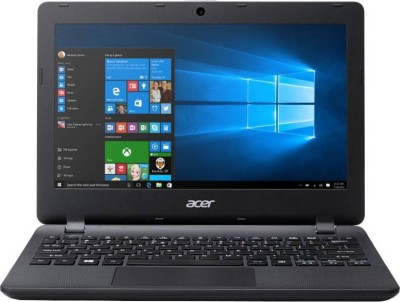 Acer ES 11 Celeron Dual Core 4th Gen - (2 GB/500 GB HDD/Windows 10 Home) ES1-132 Laptop(11.6 inch, Black, 1.25 kg)